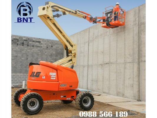 xe nâng người boom lift 16m JLG 450AJ