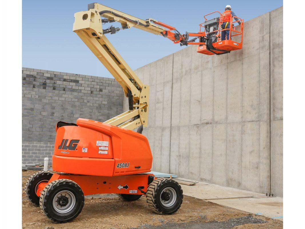Xe nâng người boom lift 16m chạy điện 450AJ
