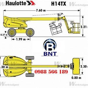 xe nâng người Haulotte