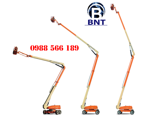 Xe nâng người cần gập 20m JLG 600AJ
